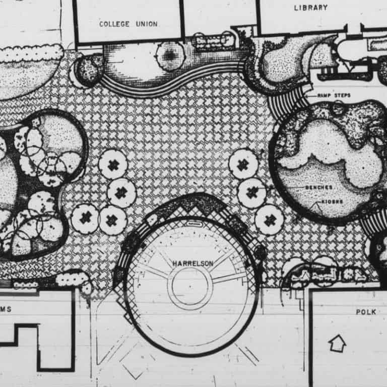Sketch of plans for the brickyard
